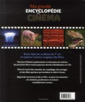 Ma grande encyclopédie du cinéma - 4ème de couverture - Format classique
