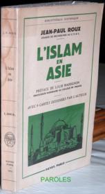 L'Islam en Asie. - Couverture - Format classique