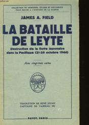La Bataille De Leyte - Couverture - Format classique