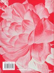 Po-redoute roses - 4ème de couverture - Format classique