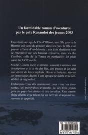 La nuit des naufrageurs - 4ème de couverture - Format classique