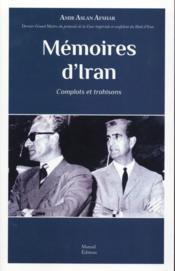 Mémoires d'Iran - Couverture - Format classique
