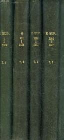 Inventaire Sommaire Des Archives Departemantales Anterieures A 1790 - Gironde - Supplement - En 4 Ouvrages - Voir Notice . - Couverture - Format classique