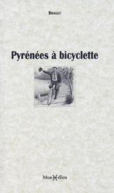 Pyrenées à bicyclette - Couverture - Format classique