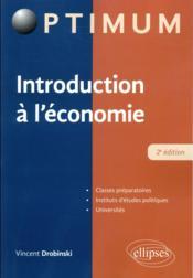 Introduction à l'économie (2e édition) - Couverture - Format classique