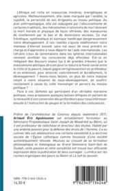 La frénésie du messianisme ; balises éthiques contre les lâchetés et marasmes politiques - 4ème de couverture - Format classique