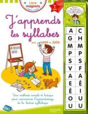 J'apprends les syllabes avec Sami et Julie (livre-ardoise) - Couverture - Format classique