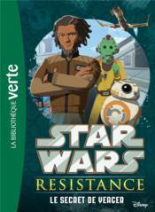 Star Wars - Résistance T.4 ; le secret de Yeager - Couverture - Format classique