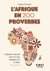 Proverbes d'Afrique - Couverture - Format classique