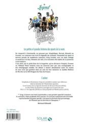 Légendes cyclistes ; petites et grandes histoires des géants de la route - 4ème de couverture - Format classique
