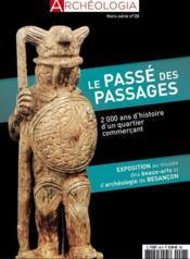 Archeologia hs n 28 le passe des passages - septembre 2020 - Couverture - Format classique