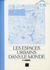 N.Espaces Urbains Monde - Couverture - Format classique