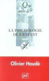 La psychologie de l'enfant 2e ed qsj 369 - Intérieur - Format classique