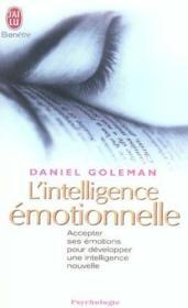 telecharger L'intelligence emotionnelle t.1 – accepter ses emotions pour developper une intelligence nouvelle livre PDF en ligne gratuit