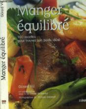 Manger Equilibre Avec Un Grand Chef - Couverture - Format classique