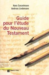 Guide pour l'etude du nouveau testament - Intérieur - Format classique