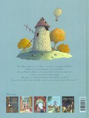 Un drôle d'ange gardien t.5 ; le voleur d'étoiles - 4ème de couverture - Format classique