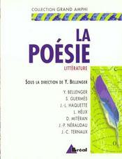 La poésie - Intérieur - Format classique