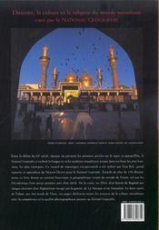 Voyages en terres d'islam. National geographic, cent ans d'archives - 4ème de couverture - Format classique