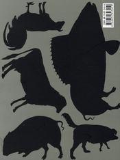 BETES DE STYLE - ANIMALS WITH STYLE. Catalogue d'exposition [ RAVELO, ZUGER, FREYMOND, WALDERT, MOLLISON, KULIK, KHAZEM, STERBAK, CACCAVALE, DELVOYE ] - 4ème de couverture - Format classique