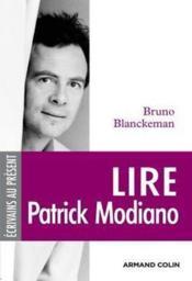 Lire Patrick Modiano - Couverture - Format classique