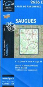 Saugues - Couverture - Format classique