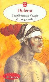 Supplement au voyage de Bougainville - Intérieur - Format classique
