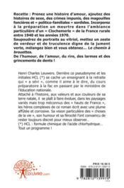 Le Chemin A Brouette - 4ème de couverture - Format classique