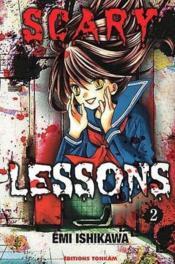 Scary lessons t.2 - Couverture - Format classique