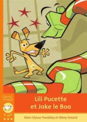 Lili Pucette et Jake le Boa - Couverture - Format classique