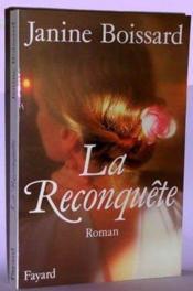 La Reconquete. - Couverture - Format classique