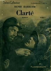 Clarte. Collection : Select Collection N° 76. - Couverture - Format classique