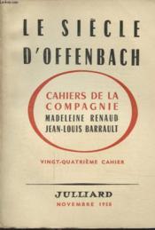 Le Siecle D Offenbach - Couverture - Format classique