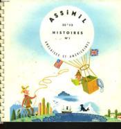 Histoires Anglaises Et Americaines. Histoires N°1. 33t 1/3. (3 Disques). - Couverture - Format classique