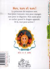 La princesse qui dit non ! - 4ème de couverture - Format classique
