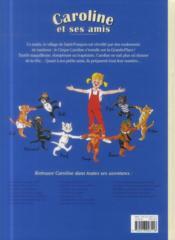 Caroline et ses amis ; au cirque - 4ème de couverture - Format classique