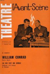 L'AVANT-SCENE - THEATRE N° 258 - WILLIAM CONRAD de PIERRE BOULLE - Couverture - Format classique
