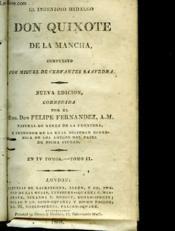 Don Quixote De La Mancha - Tomo 2 - Couverture - Format classique