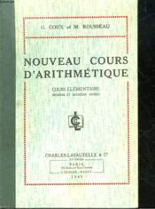 Nouveau Cours D'Arithmetique - Cours Elementaire - Couverture - Format classique