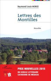 Lettres des montilles - Couverture - Format classique