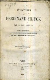 Aventures De Ferdinand Huyck. - Couverture - Format classique