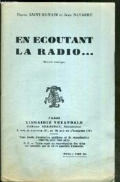En Ecoutant La Radio.. - Sketch Comique - Couverture - Format classique