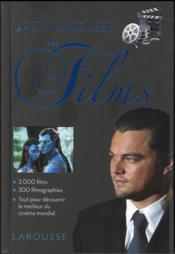 Petit Larousse des films - Couverture - Format classique