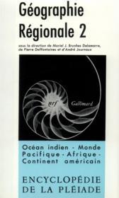 Geographie regionale - vol02 - Couverture - Format classique