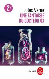 Une fantaisie du docteur Ox - Couverture - Format classique