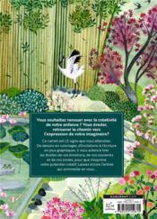 Mon carnet d'art-thérapie ; pour renouer avec sa créativité - 4ème de couverture - Format classique