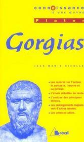 Gorgias, de Platon - Intérieur - Format classique
