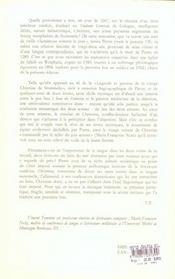 Vie de christine de stommeln - vita christinae stumbelensis - 4ème de couverture - Format classique