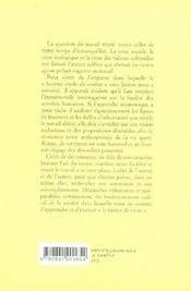 ENTROPIA ; décroissance et travail - 4ème de couverture - Format classique