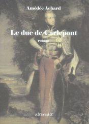 Le duc de carlepont - Intérieur - Format classique